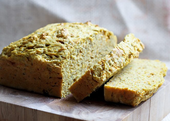 Pumpkin and Herb Bread