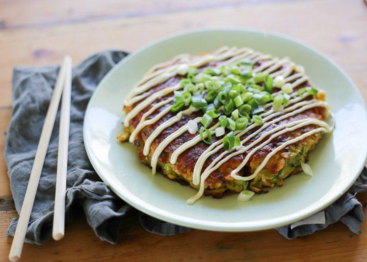Vegetarian Okonomiyaki