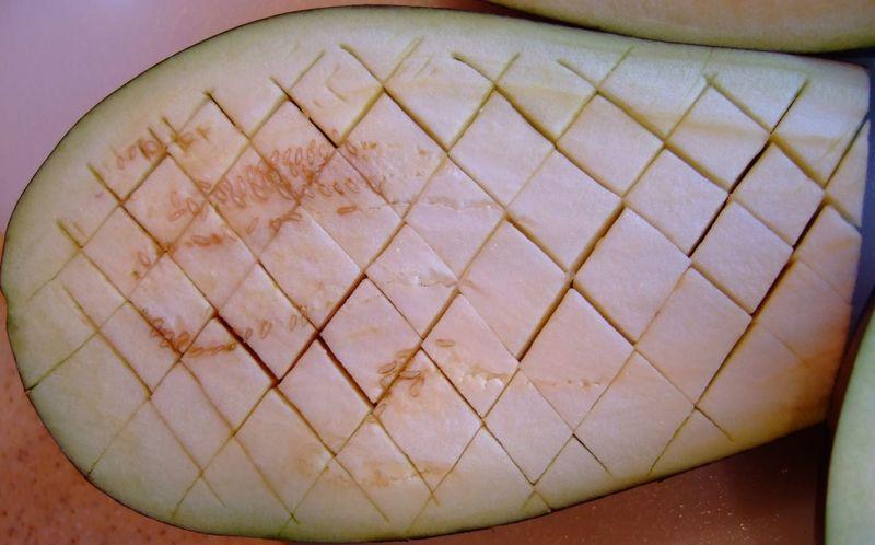 Scoured Eggplant Photo