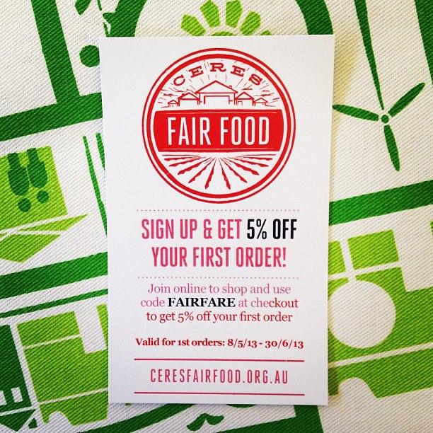 Fair Food Fare Promo