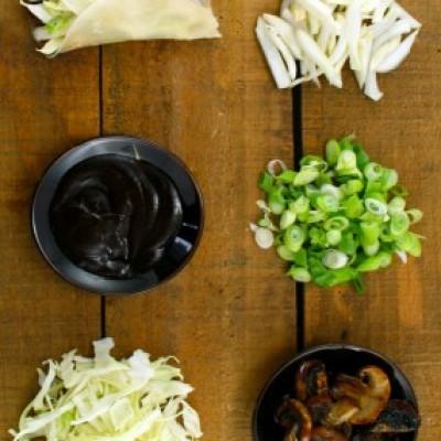 vegetarian chinese pancakes