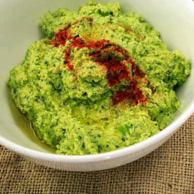 Broadbean and Mint Dip