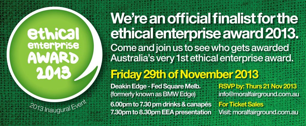 Ethical Enterprise Award 2013