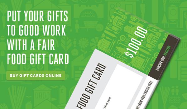 Fair Food Gift Cards