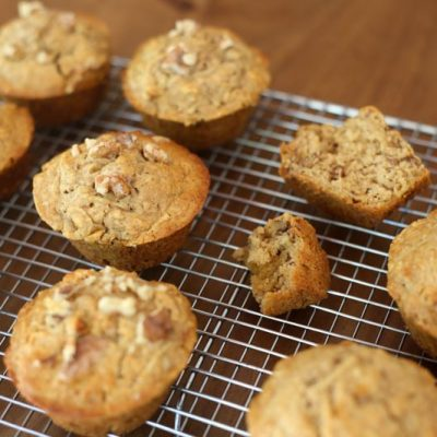 Quick spelt and pear muffins - CERES Fair Food