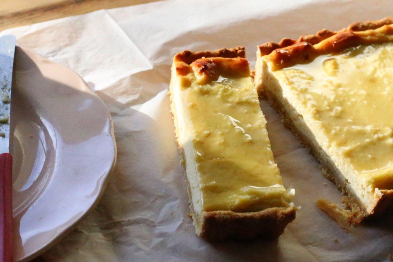 CERES Fair Food Honey ricotta tart - CERES Fair Food