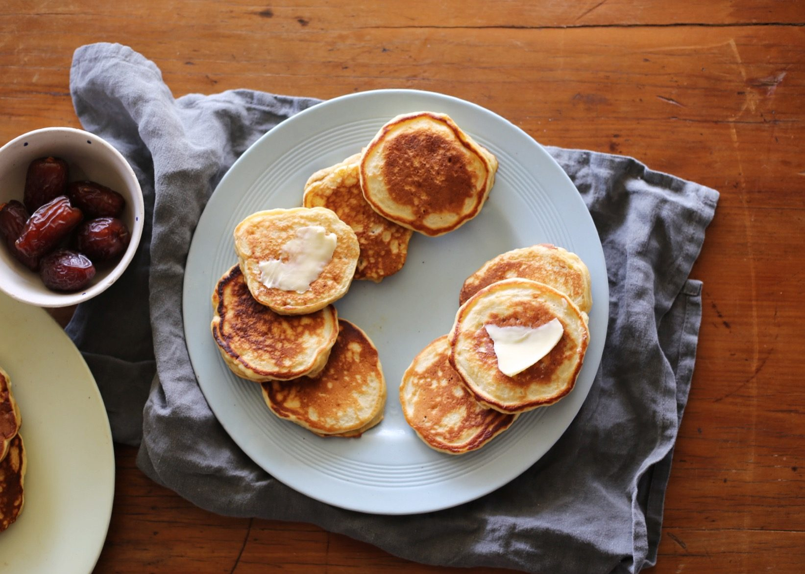 Date and banana pikelets from Annabel Crabb