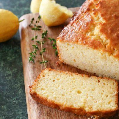Lemon honey cake