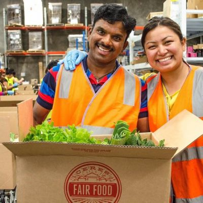 Hema and Mathees, equitable employment at CERES Fair Food