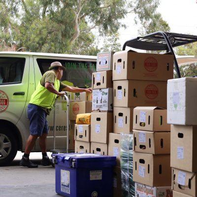 Delivery van Jesse