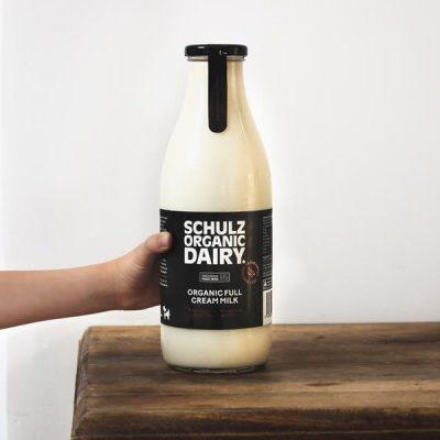 Schulz Milk in Glass