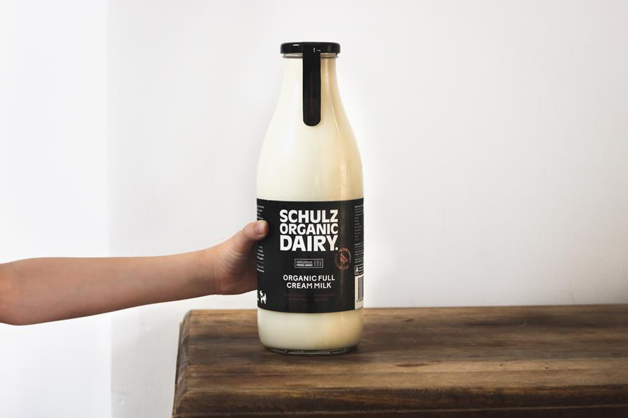 Schulz Milk in Glass