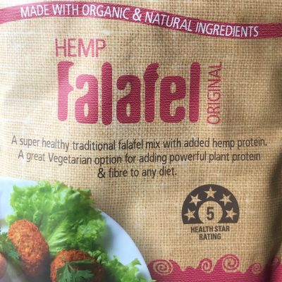 13Seeds Hemp falafel mix