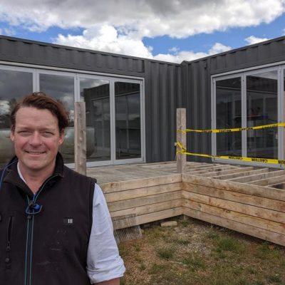Ben Falloon Taranaki Farm micro-abattoir