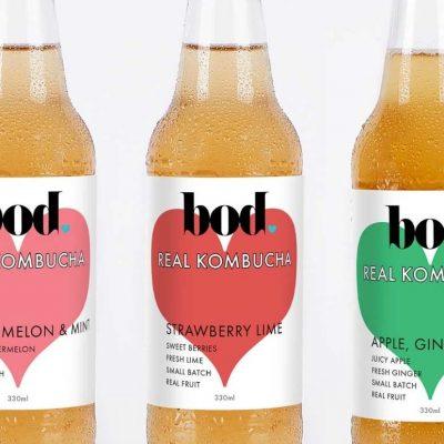 Bod Kombucha new flavours 2020