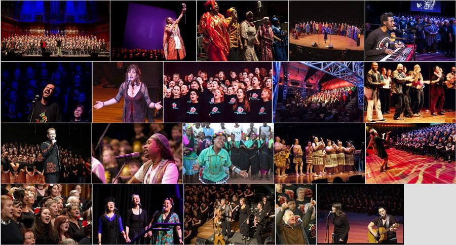 The Boite Millennium Chorus