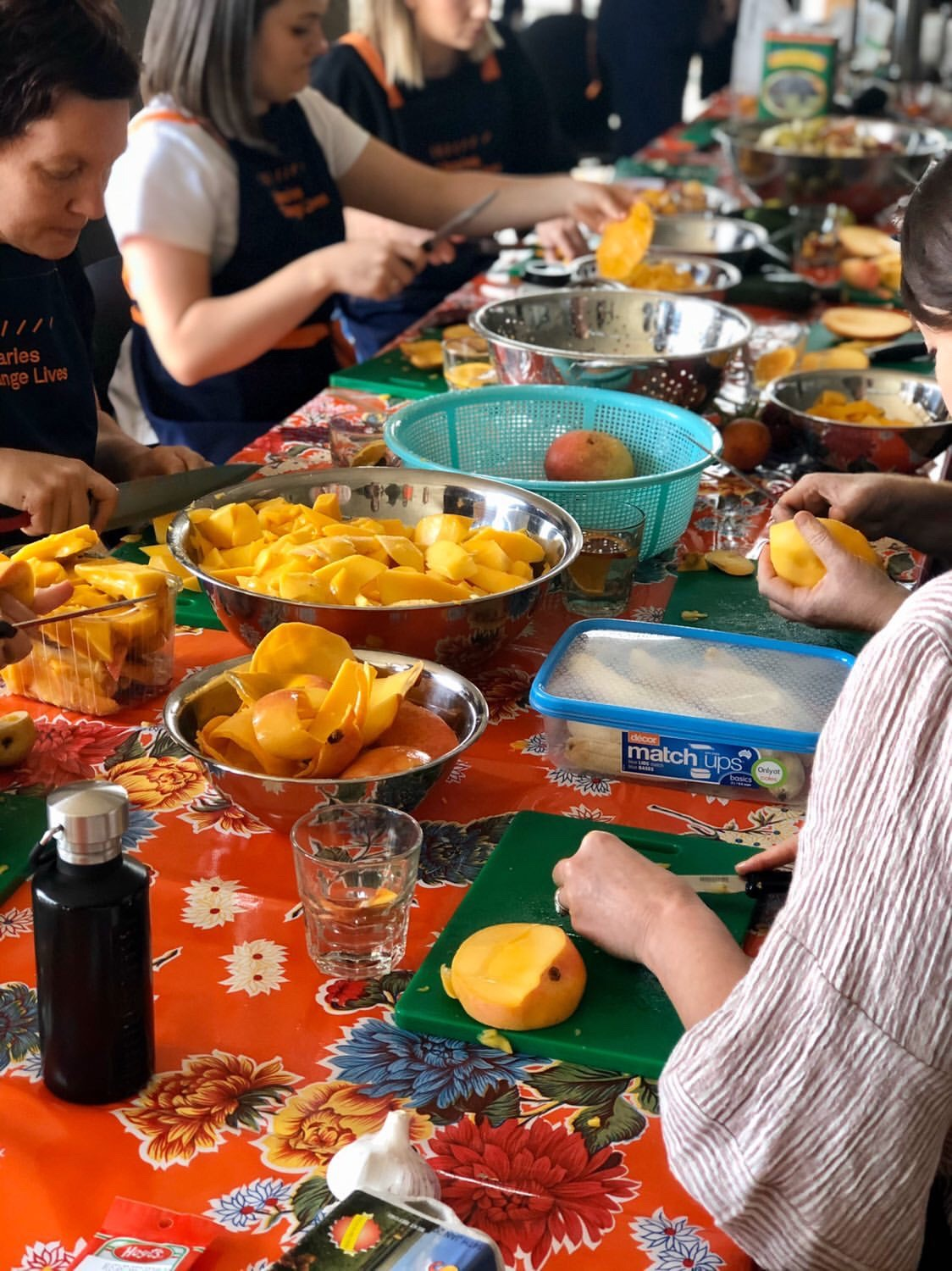 Open Table chutney and dip workshops