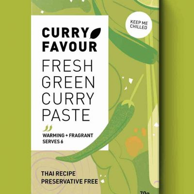 Curry Favour - green curry paste