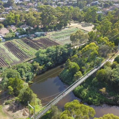 Aerial image of Joe's Garden, Coburg