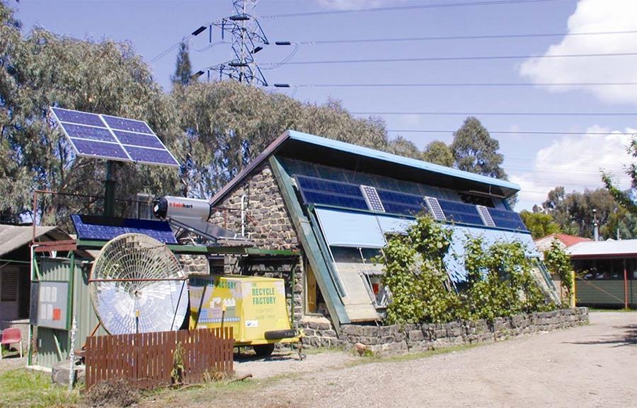 Previous solar office, CERES