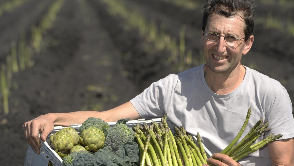 Maurie Cafra, organic grower