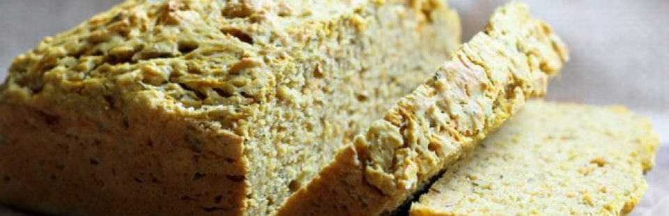 This simple pumpkin bread is delicious as is, toasted with lashings of butter, or served with a bowl of hot soup. Enjoy!
